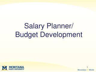 Salary Planner
