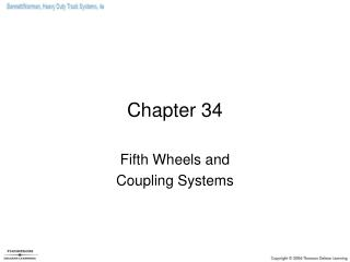 Fifth Wheels and Coupling Systems