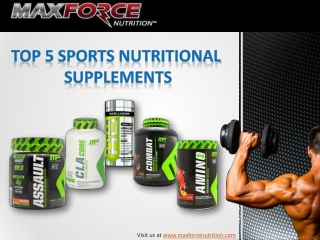 5 Muscle Building Nutritional Supplements for Athletes