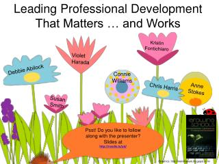 Leading Professional Development That Matters   and Works