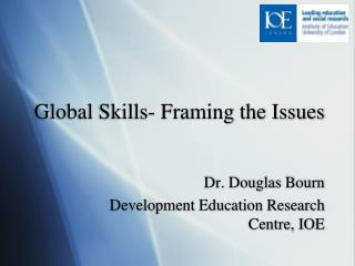 Global Skills- Framing the Issues