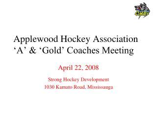 applewood hockey association