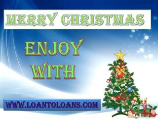 Get Christmas Loan To Celebrate Christmas