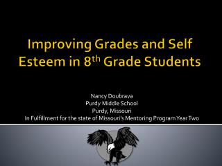 Improving Grades and Self Esteem in 8th Grade Students