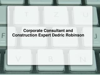 Dedric Joseph Robinson | Dedric Robinson