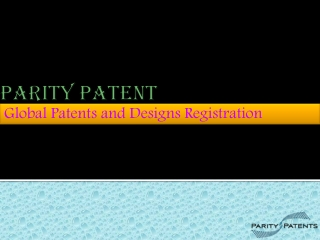 Global Patents and Designs Registration