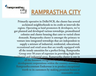 Ramprastha city