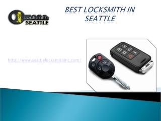 Best Locksmith in Seattle