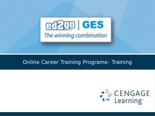 Online Career Training Programs- Training