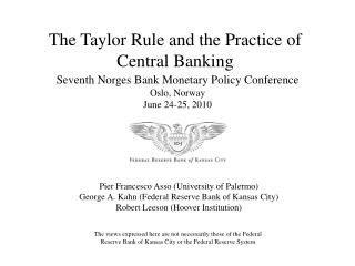 The Taylor Rule and the Practice of Central Banking
