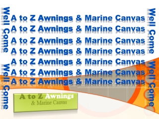 A to Z Awnings