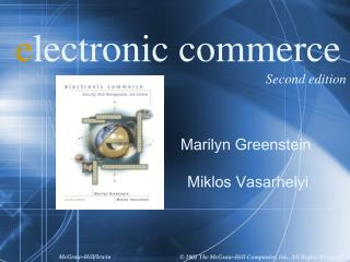 Electronic commerce  Second edition