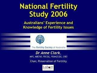 national fertility study 2006