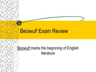 Beowulf Exam Review