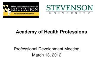 Academy of Health Professions