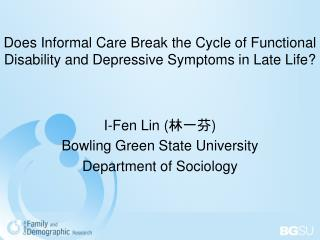 Does Informal Care Break the Cycle of Functional Disability and Depressive Symptoms in Late Life
