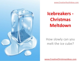 Icebreakers - Christmas Meltdown