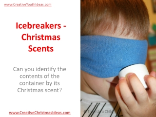 Icebreakers - Christmas Scents