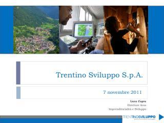 Trentino Sviluppo S.p.A.