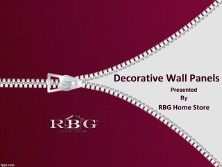 Buy Decorative Wall Panels