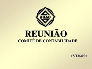 REUNI O COMIT  DE CONTABILIDADE   15