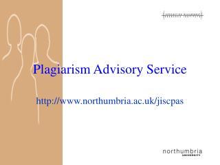 plagiarism advisory service