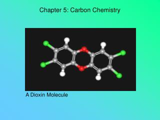 Chapter 5: Carbon Chemistry