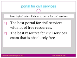 The best knowledge guide portable for civil services exam