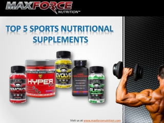 5 Sports Nutritional Supplements for Athletes
