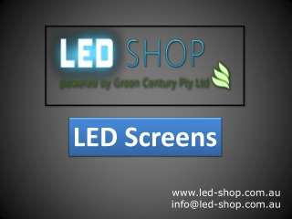 LED-Shop - LED Screens