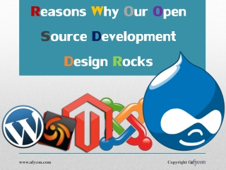 Reasons Why Our Open Source Development Design Rocks