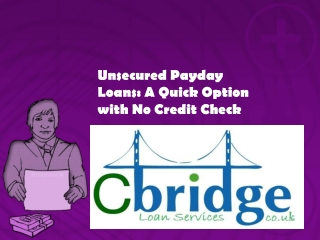 Unsecured payday loans