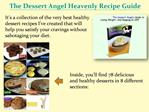 The Dessert Angel Review