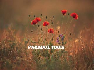 Paradox Times