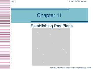 Establishing Pay Plans