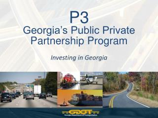 P3 Georgia s Public Private Partnership Program