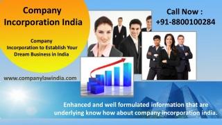 Company Incorporation in India