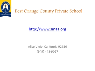 St. Mary's School | Private IB World School in Orange County