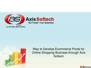 Way to Develop Ecommerce Portal for Online Shopping Business