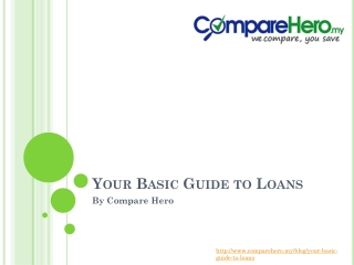 The Basic Loans and Their Requirements