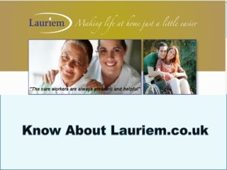Know about lauriem.co.uk