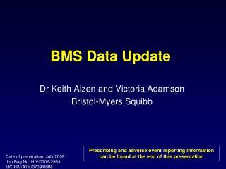 BMS Data Update