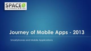 Mobile App Journey of 2013 in 13 Slides