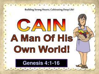 genesis 4:1-16
