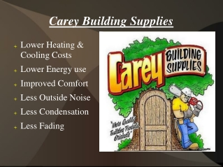 Carey Building Supplies San Bernardino