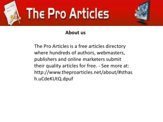 Do You Still Need Online Articles Marketing