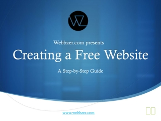 Creating a Free Website
