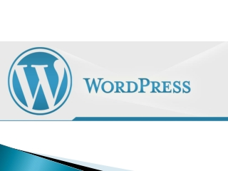 Overview of wordpress