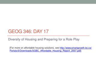 GEOG 346: Day 17