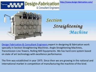 Straightening Machine Manufacturers,Rolling Mill Equipments,